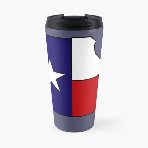 Missouri outline Texas flag Travel Mug