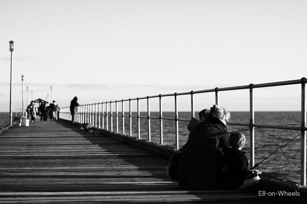 Mordi Pier, in July by Ell-on-Wheels