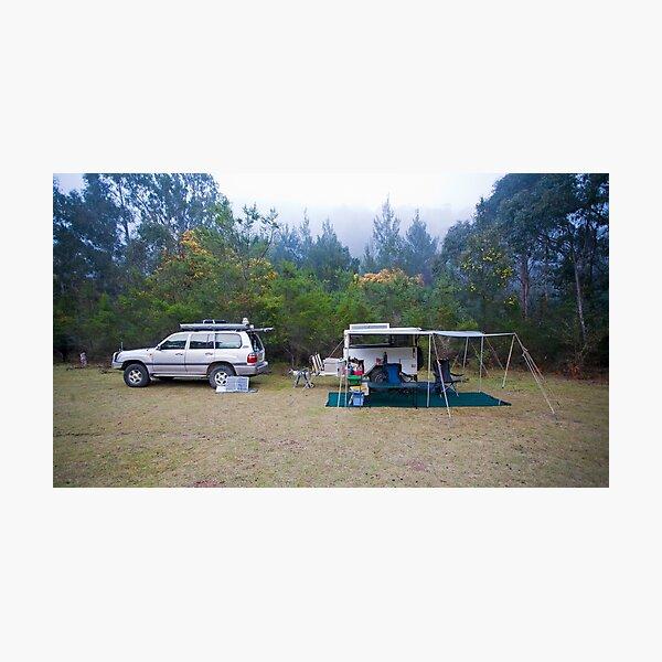 Campsite, Bendethera, Deua National Park, NSW Photographic Print