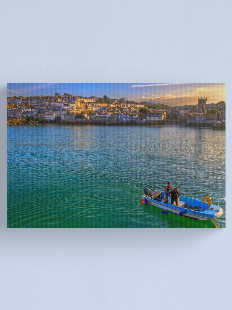 Alternate view of Harbour Collection Canvas Print