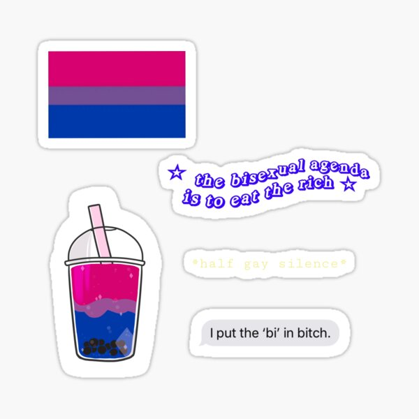 BISEXUAL STICKERS Sticker