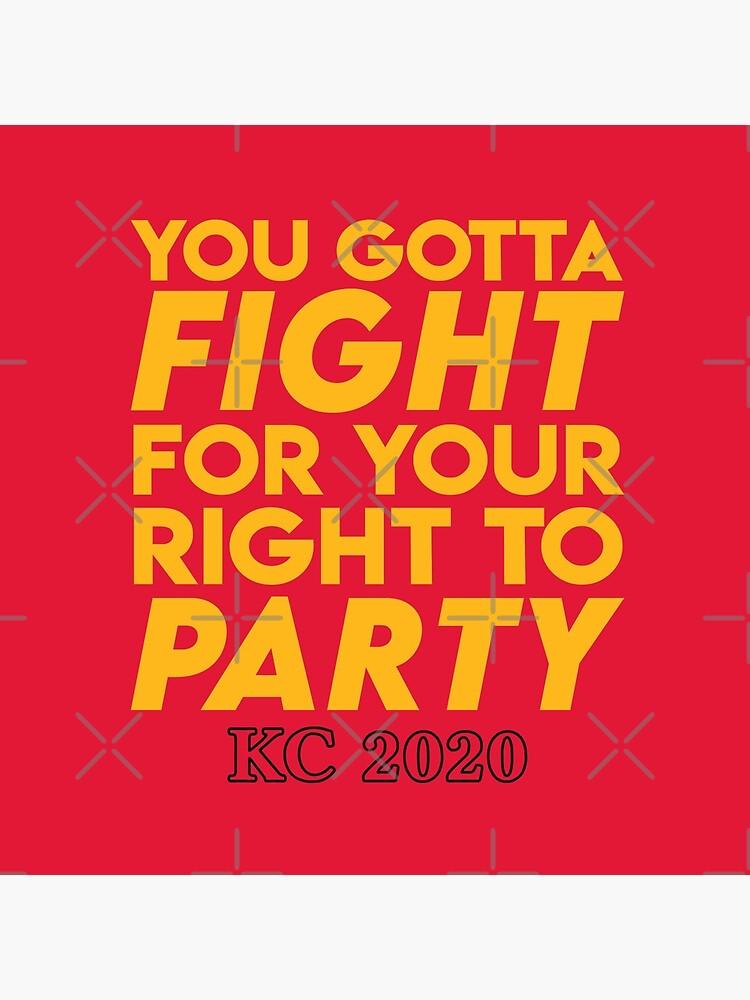 KC Kansas City 2020 KC Fan Arrowhead Red Kingdom T-Shirt by ravishdesigns