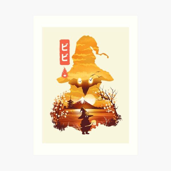 Ukiyo e Vivi Art Print