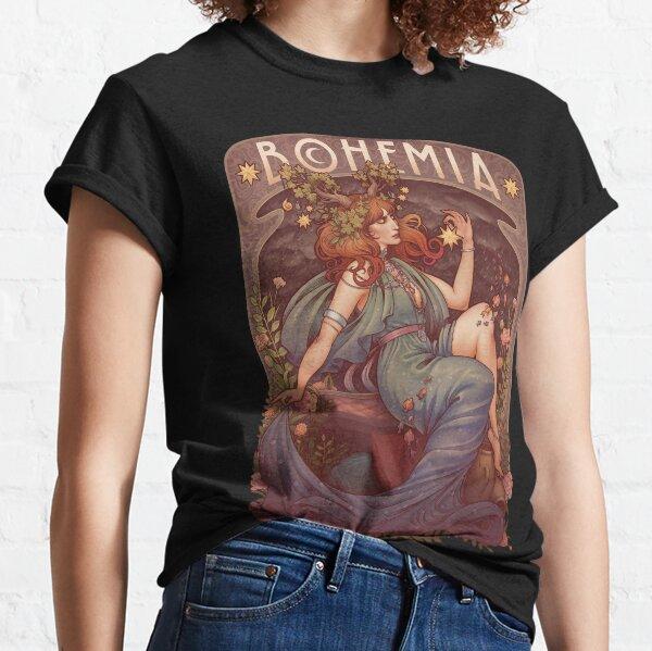 Art Nouveau BOHEMIA Classic T-Shirt