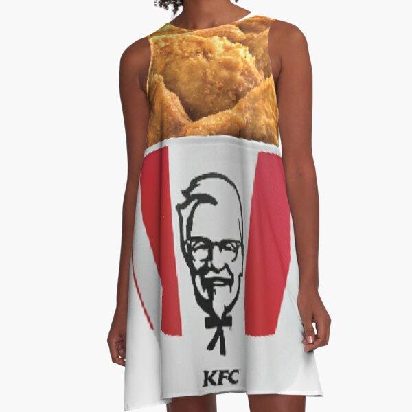 KFC Bucket A-Line Dress