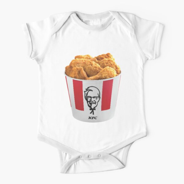 KFC Bucket Short Sleeve Baby One-Piece