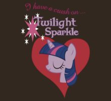 I have a crush on... Twilight Sparkle - with text