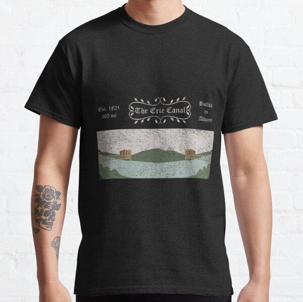 Vintage Erie Canal Illustration Classic T-Shirt