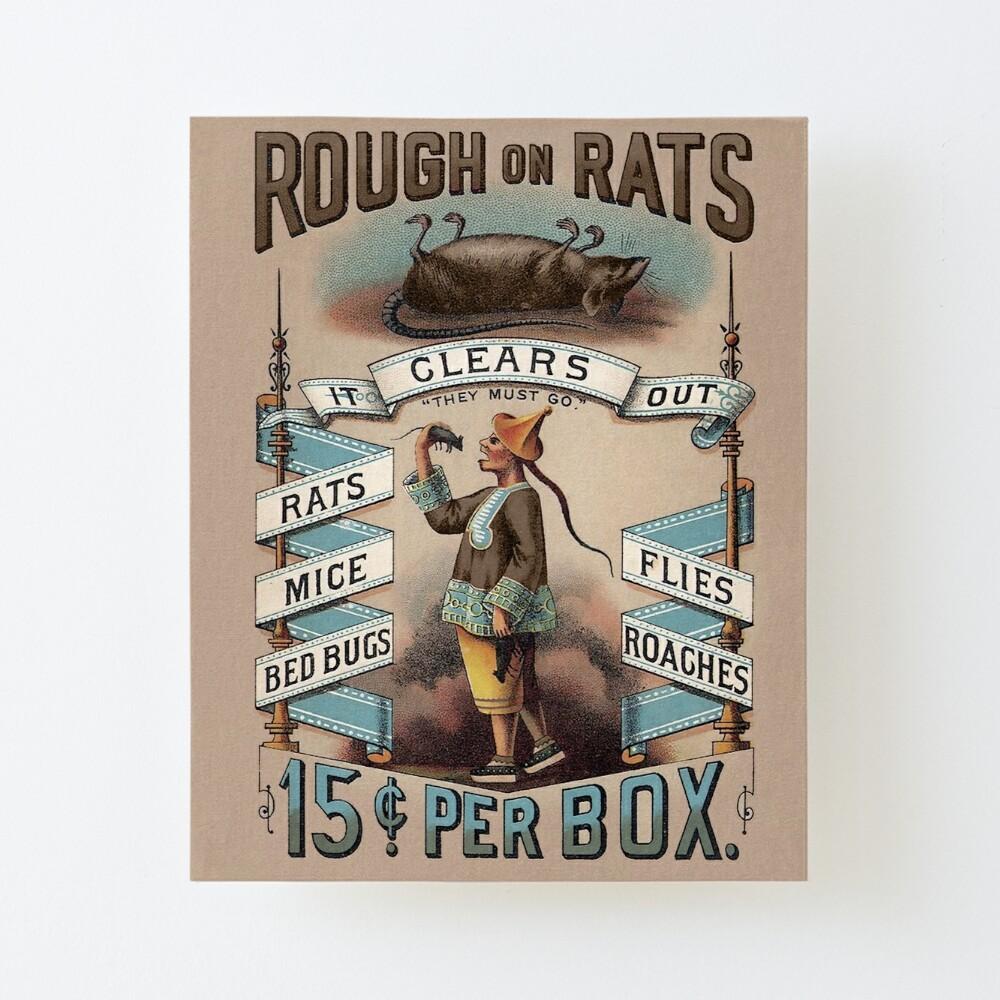 PORCH, rough on rats SIGNS vintage style VINTAGE ADVERTISEMENT pest ad