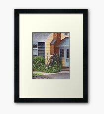 Carriage Lamp Framed Print