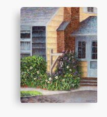 Carriage Lamp Canvas Print