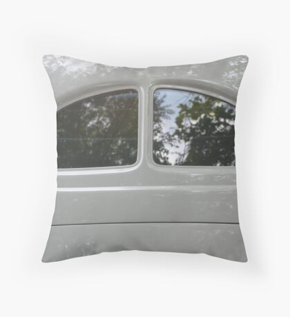 Street Rod Art: Reflections of the Day Throw Pillow