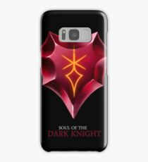Soul of the Dark Knight -black Samsung Galaxy Case/Skin