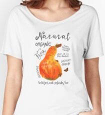 Watercolor pumpkin Women's Relaxed Fit T-Shirt