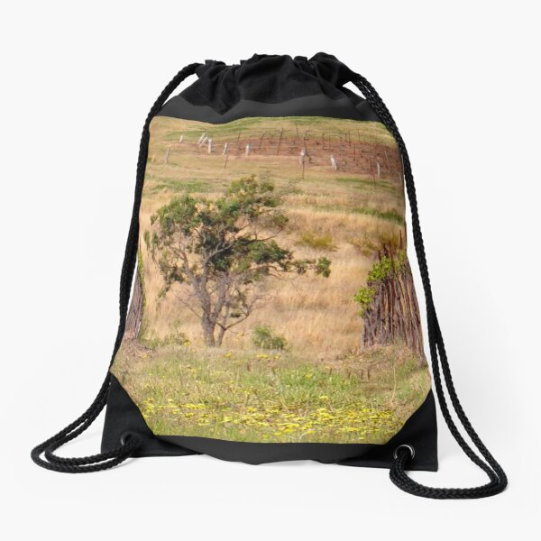 Pokolbin Vineyards - NSW Australia Drawstring Bag