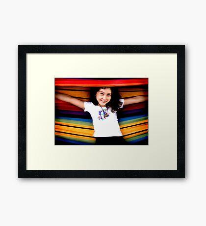 Hammock! Framed Print
