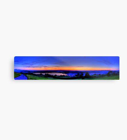 Twilight from Mt Zug - HDR Panorama Metal Print