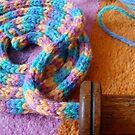 French Knitting 2 by Ann Baker