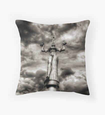 Lady Imperia Throw Pillow