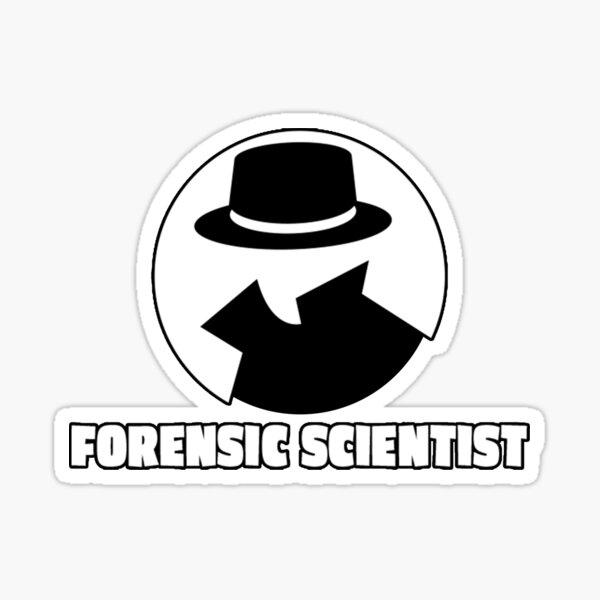 Forensic Scientist Sticker