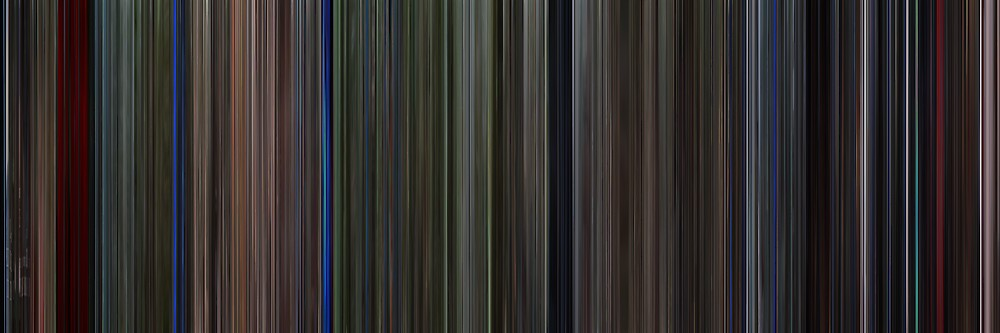 Moviebarcode: Predator (1987) by moviebarcode