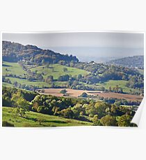 Gloucestershire Countryside Poster