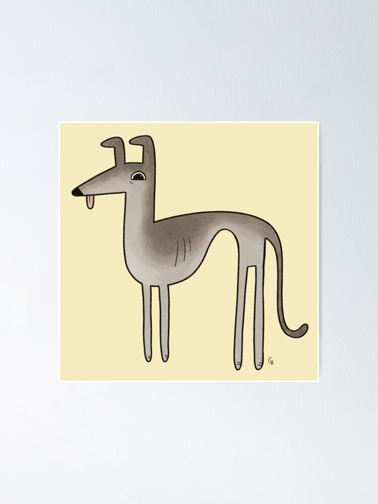 ITALIAN GREYHOUND CHARMING DOG GREETINGS NOTE CARD BEAUTIFUL DOG BY FIREPLACE
