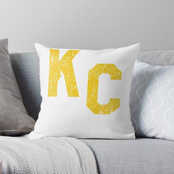 KC Kansas City Fan Throw Pillow