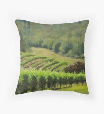 Abacela Vineyard Throw Pillow