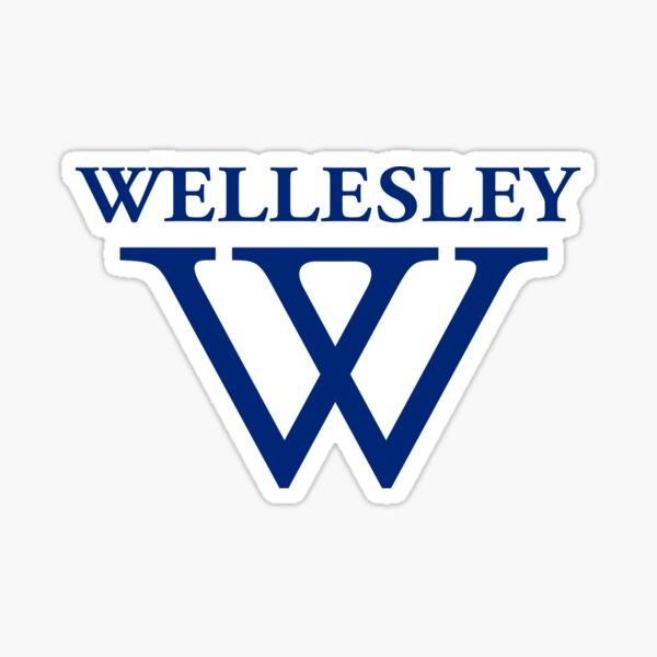 Wellesley University Official Logo Sticker