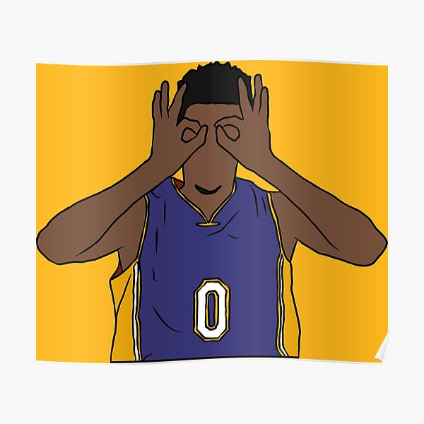 Nick Young 3 Point Goggles Poster