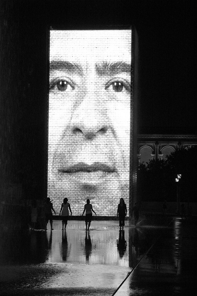 Crown Fountain by Gilmorte