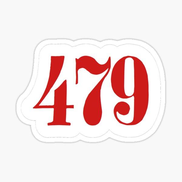 479 Area Code Northwest Arkansas  Sticker