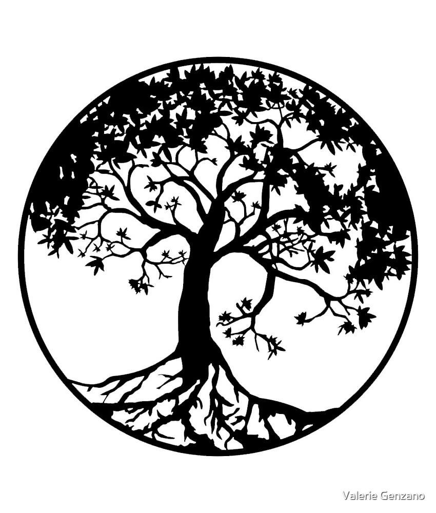 Tree of Life by Valerie Genzano
