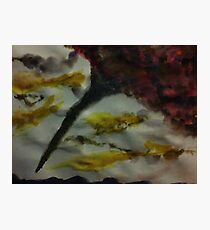 Funnel Cloud!!  Natural Disaster Series, watercolor Photographic Print