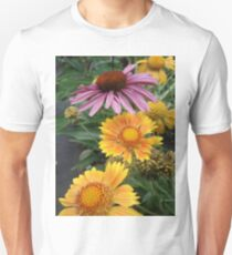 Coneflower and Indian Blankets Unisex T-Shirt