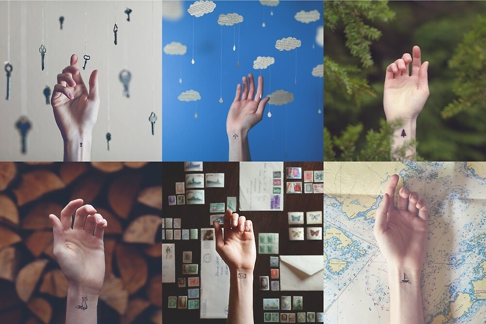 Hands Collage2 by thathome