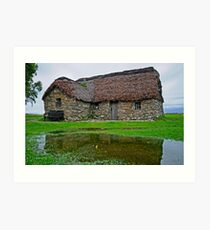 Blackhouse  Art Print