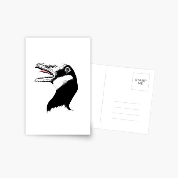 Horrible Goose Postcard
