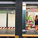 The R train station at 42nd Street by photographist