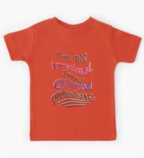 Quantum only seems IRRATIONAL Kids Tee