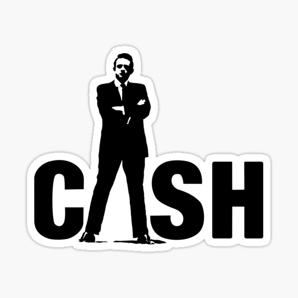 Johnny Cash Shirt, Sticker, Hoodie, Mask Sticker