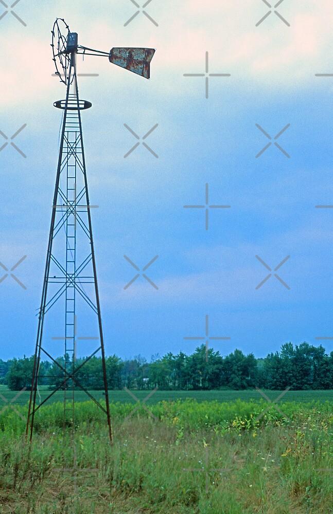 Old Wind Mill by Bill Spengler