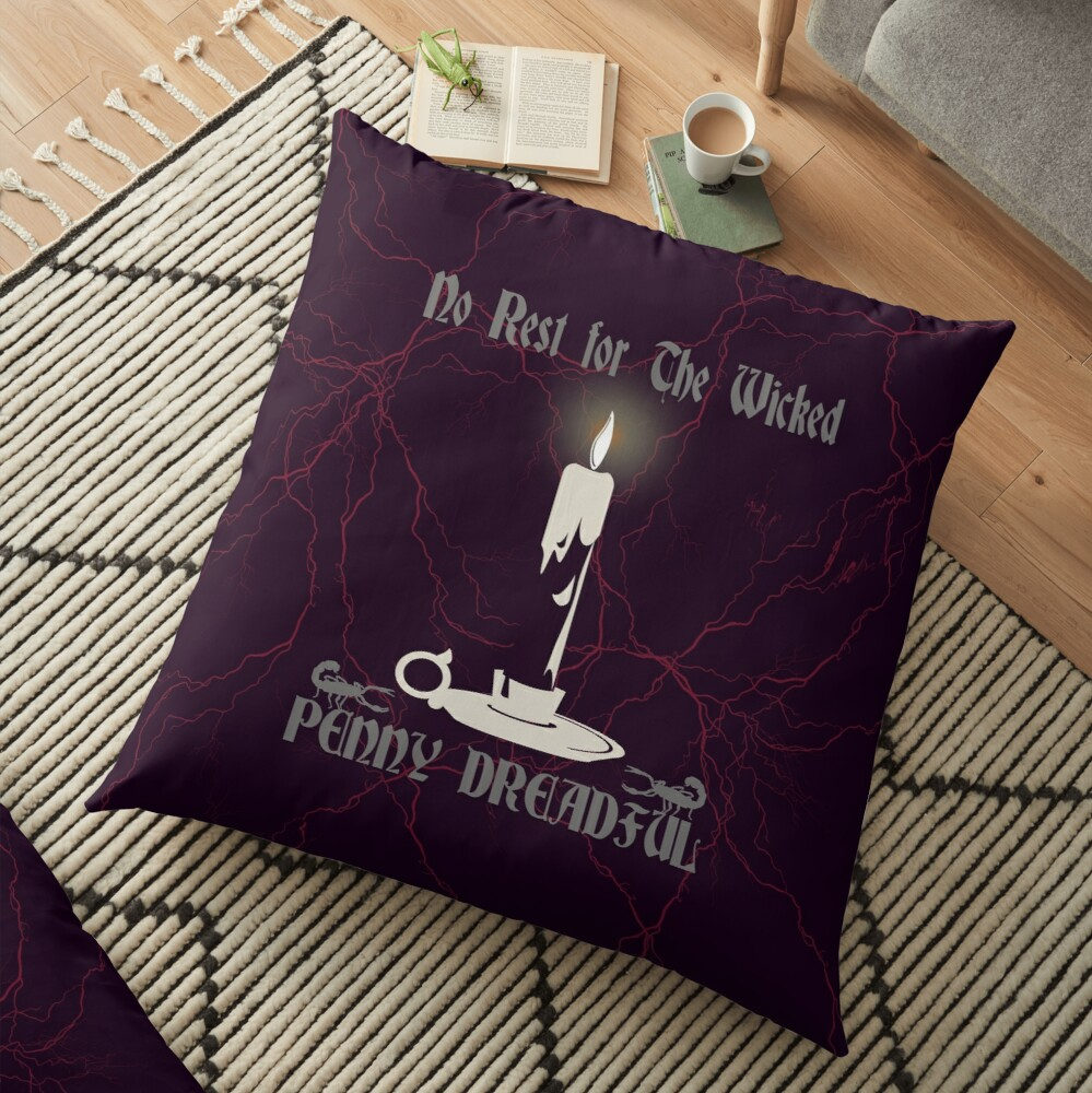 Penny Dreadful No rest for the wicked Floor Pillow