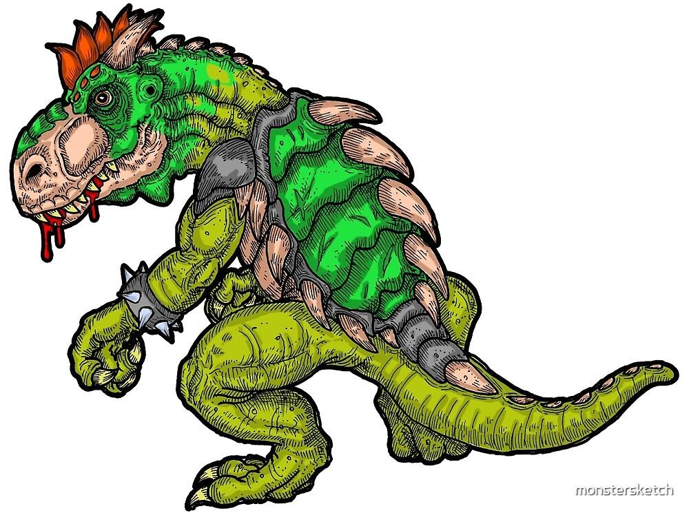 Dinosaur King by monstersketch