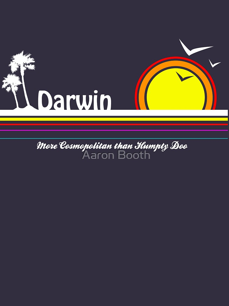 Darwin vs Humpty Doo (Colour) | Unisex T-Shirt
