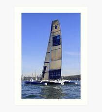 Banque Populaire - Ocean Racing Trimaran Art Print