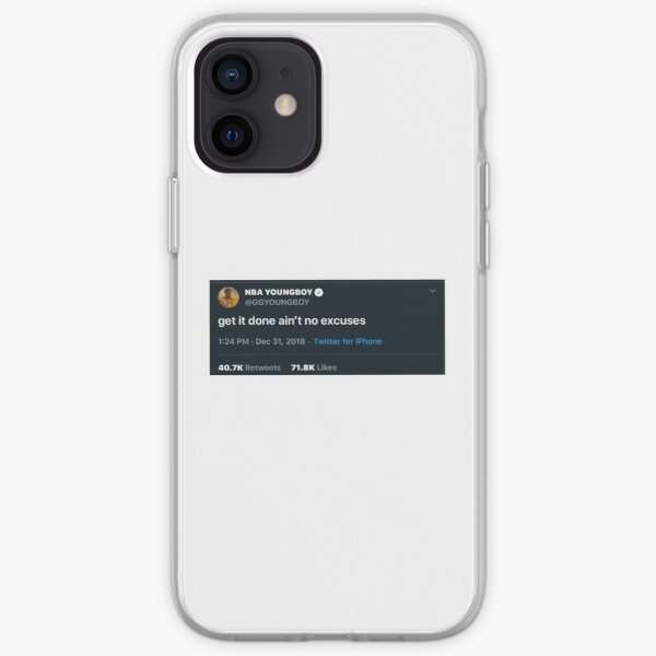 nba youngboy tweet iPhone Soft Case