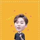 KPOP SEVENTEEN sticker set - Seungkwan by yutong
