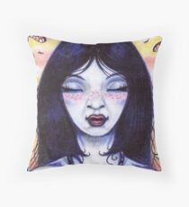 Mistress Odonata Throw Pillow